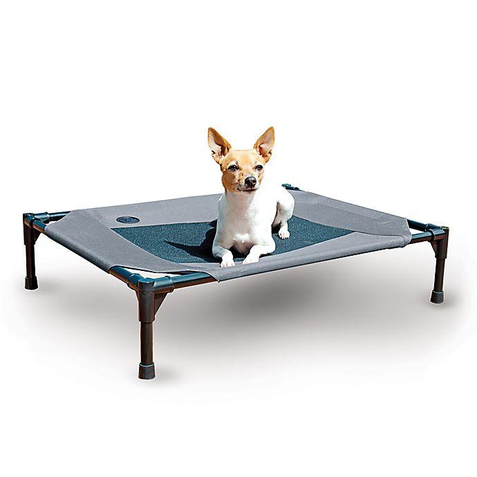 Alternate image 1 for K&H™ Original Mesh Pet Cot™ in Grey