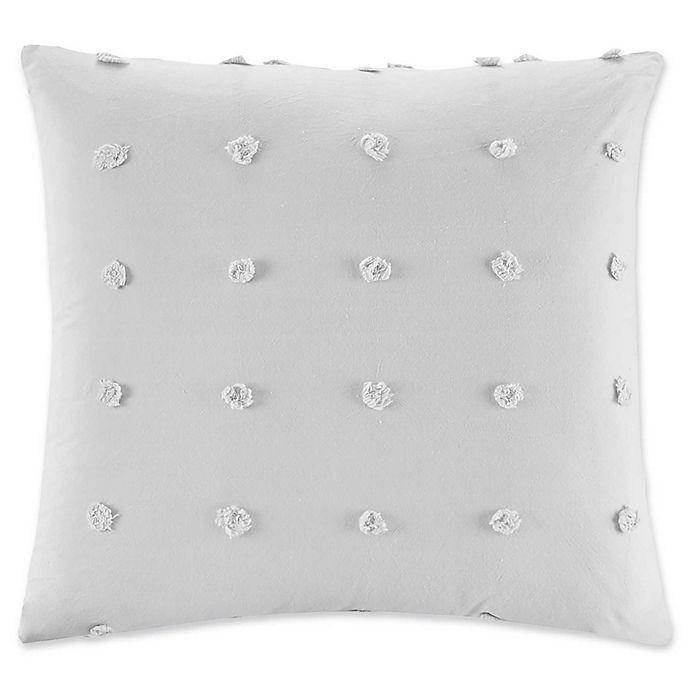 Alternate image 1 for Urban Habitat Brooklyn Square Throw Pillow in Grey