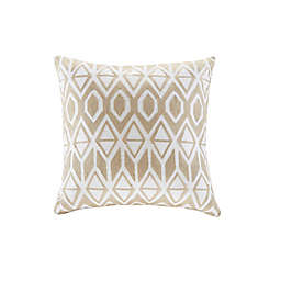 Harbor House® Anslee Cotton Square Decorative Pillow Taupe
