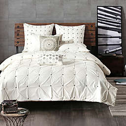 INK+IVY Maise Full/Queen Comforter Set in White