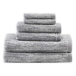 Madison Park Signature 6-Piece Melange Turkish Cotton Towel Set