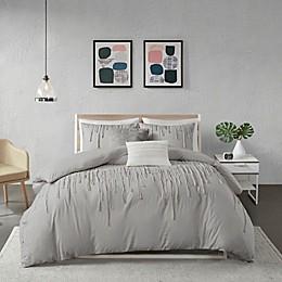 Urban Habitat Paloma Duvet Cover Set in Grey