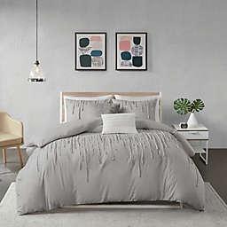 Urban Habitat Paloma 5-Piece King/California King Duvet Cover Set in Grey