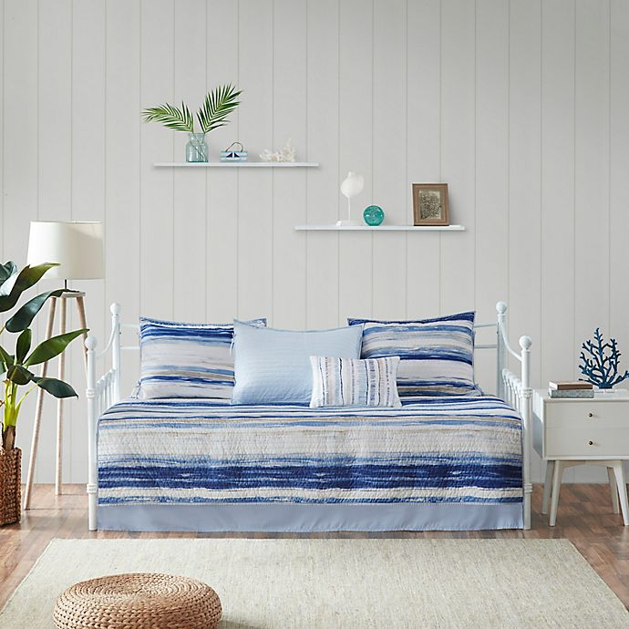Alternate image 1 for Madison Park Marina Reversible Daybed Cover Set
