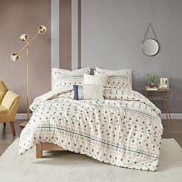 Urban Habitat Auden 5-Piece Cotton Jacquard Comforter Set in Aqua