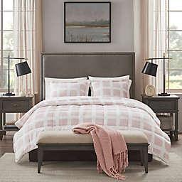 Madison Park® Mae 2-Piece Plush Twin Comforter Set in Blush