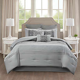 510 Desgin Ramsey 8-Piece Embroidered Comforter Set