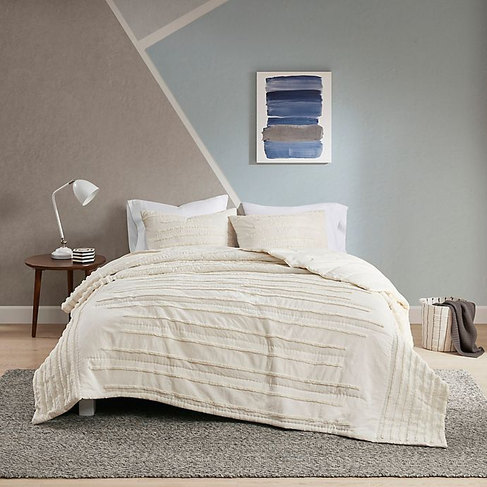 Alternate image 1 for Urban Habitat™ Mercer 3-Piece Coverlet Set