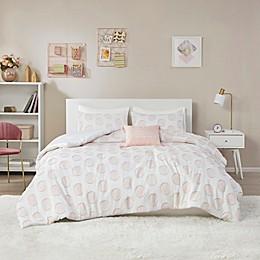 Intelligent Design Jennifer Clipped Jacquard Comforter Bedding Collection