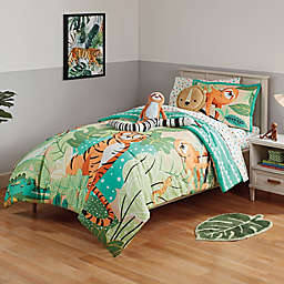 Marmalade™ Jungle Friends 7-Piece Reversible Full Comforter Set