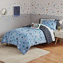 Marmalade™ Ashton 7-Piece Reversible Queen Comforter Set in Blue