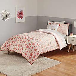 Marmalade™ Sweet Heart 7-Piece Queen Comforter Set in Pink