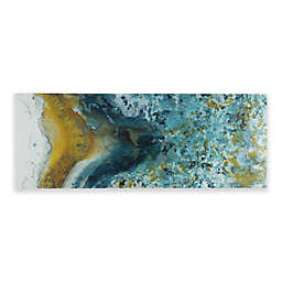 INK+IVY® Shattering Rock Gel Coated 48-Inch x 18-Inch Canvas Wall Art in Yellow