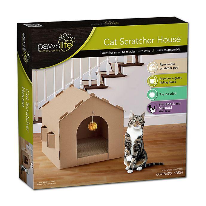 Alternate image 1 for Pawslife™ Cat Scratcher House