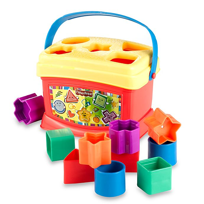 Alternate image 1 for Fisher-Price® Brilliant Basics™ Baby's First Blocks