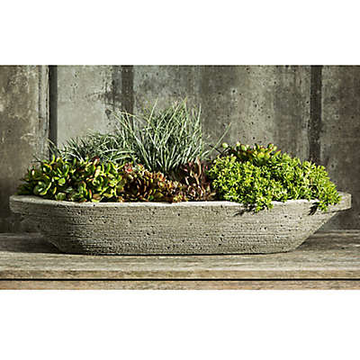 Campania Barca Planter in Alpine Stone