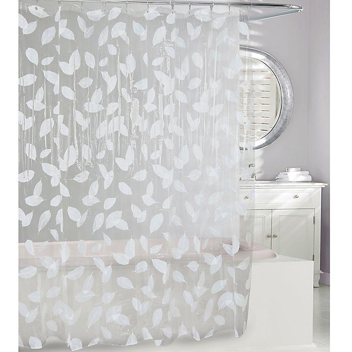 Moda At Home Harvest Leaf PEVA Shower Curtain