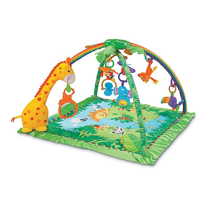 Alternate image 1 for Fisher-Price® Rain forest™ Melodies & Lights Deluxe Gym™