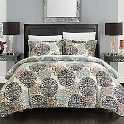 Chic Home Jameson 3-Piece Reversible King Duvet Cover Set in Beige