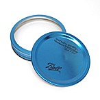 Ball® Wide Mouth 6-Pack Jar Lids and Bands in Blue