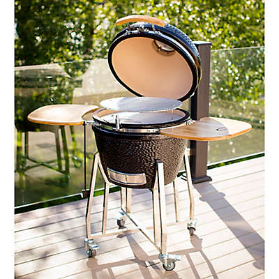 Louisiana Grills K24 24-Inch Ceramic Charcoal Barbecue Grill