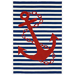 Kaleen Sea Isle Anchor Indoor/Outdoor Rugs