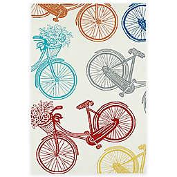 Kaleen Sea Isle Bicycle Indoor/Outdoor Rug