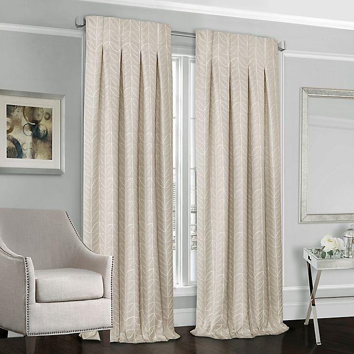 Alternate image 1 for Designers' Select™ Peyton Back Tab Window Curtain Panel