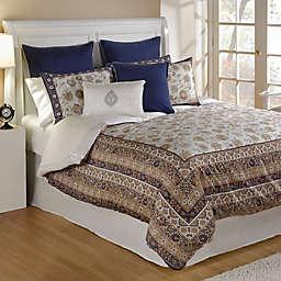 Bed Inc. Isabelle Comforter Set in Blue/White