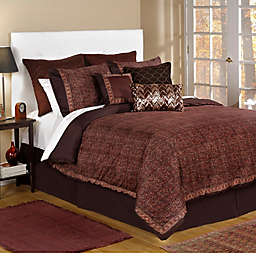 Bed Inc. Jade Comforter Set in Brown