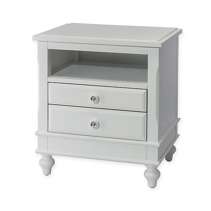 Alternate image 1 for Hillsdale Kids and Teen Lake House Nightstand in White