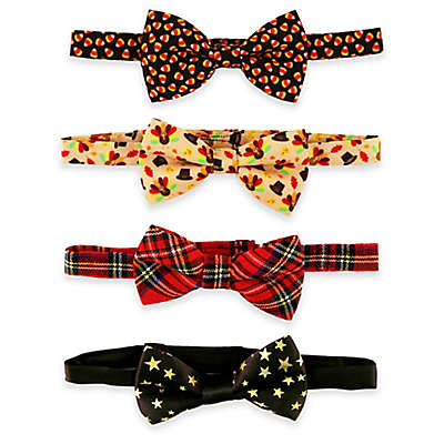 Rising Star™ 4-Pack Fall Holiday Bowties