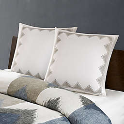 INK+IVY Isla Embroidered European Pillow Sham