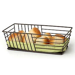 Spectrum Wright™ Steel Bread Basket in Bronze