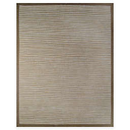 Natural Border 8-Foot x 10-Foot Area Rug in Limestone