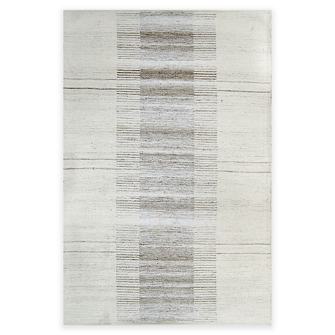 Alternate image 1 for Bee & Willow™ Home Century Handcrafted Rug in Grey/Ivory