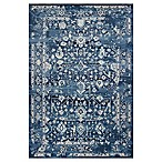 KAS Azure Blue Marrakesh 5-Foot 3-Inch x 7-Foot 7-Inch Area Rug