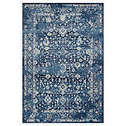 KAS Azure Blue Marrakesh Area Rug