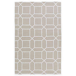 Surya Kingston Peak 2-Foot x 3-Foot Indoor/Outdoor Accent Rug in Light Grey