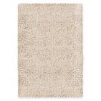 Carpet Art Deco Supreme 7'10  x 10'4  Microfiber Shag Area Rug in Beige