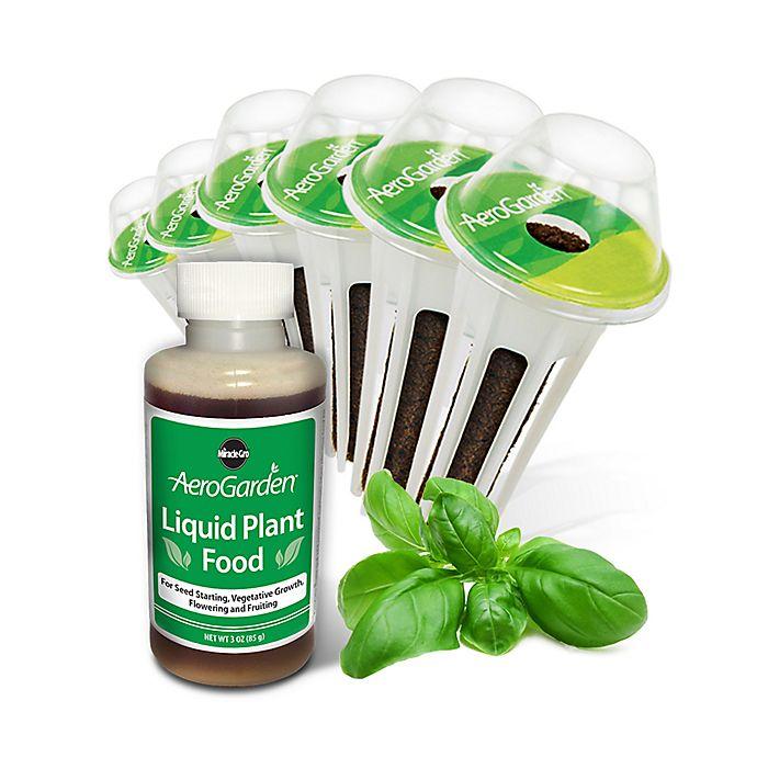 Alternate image 1 for Miracle-Gro® AeroGarden™ Pesto Basil Seeds 6-Pod Kit