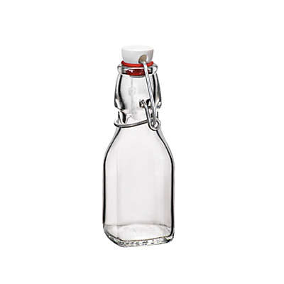 Bormioli Rocco 4.25 oz. Glass Swing Bottle with Hermetically Sealed Lid