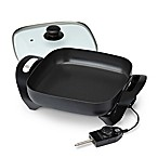 Toastmaster 11-Inch Electric Skillet with Glass Lid