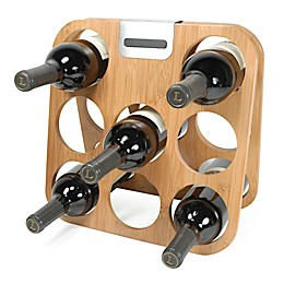 rabbit® 8-Bottle Bamboo Wine Rack