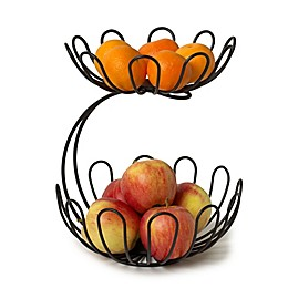Spectrum Bloom™ Arched 2-Tier Fruit Server