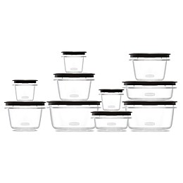 Rubbermaid® Premier 20-Piece Set Food Storage Set in Grey