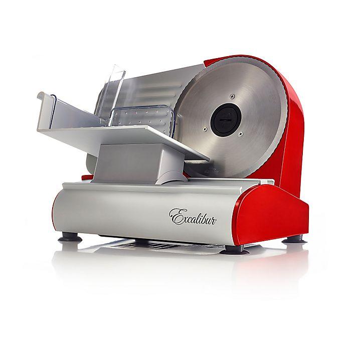 Alternate image 1 for Excalibur® 7.5-Inch Food Slicer in Red