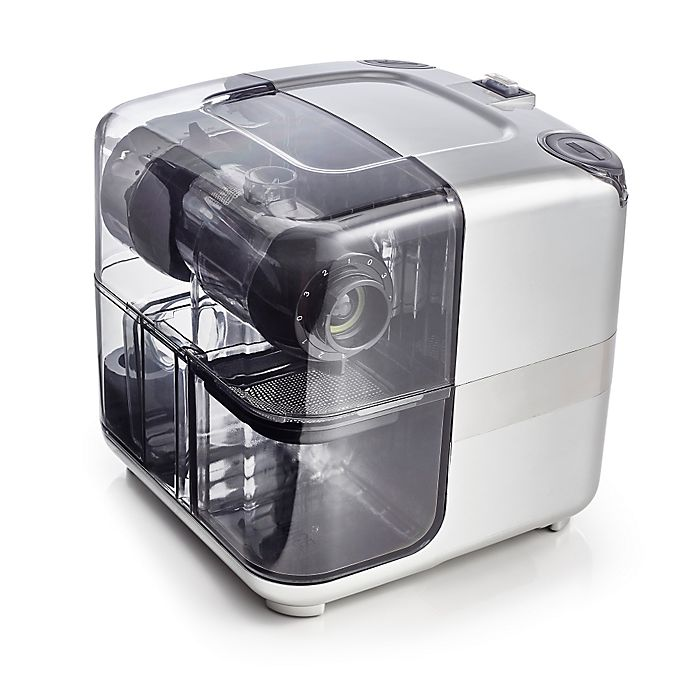 Alternate image 1 for Omega® Low Speed Nutrition System Juice Cube in Silver