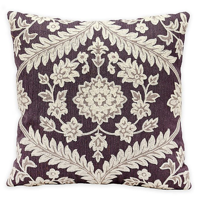 Alternate image 1 for Kathy Ireland Home by Nourison Dynasty Square Throw Pillow