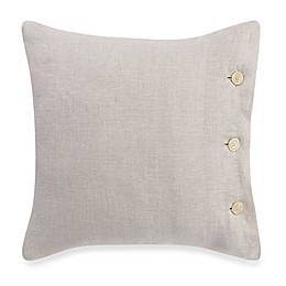 Bellora® Basil 18-Inch Square Throw Pillow in Natural